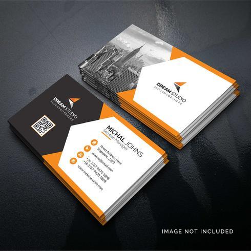 Carte d'entreprise élégante