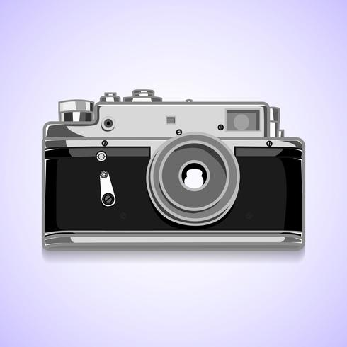 Vector fotocamera