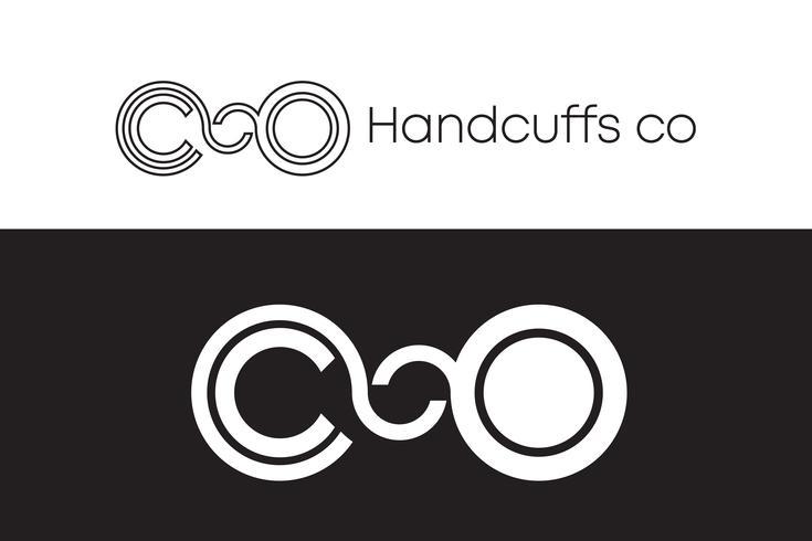 Manette Logo Concept in bianco e nero