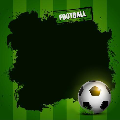 diseño de marco de fútbol vector