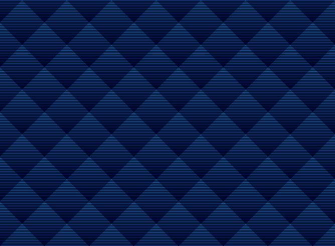 Obscuridade abstrata - estrutura sutil do fundo azul do teste padrão dos quadrados. Treliça de estilo de luxo. Repita a grade geométrica.