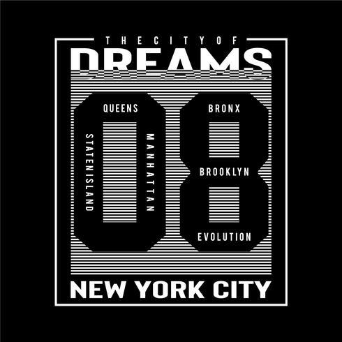 Tipografía Staten Island para el diseño de la camiseta.