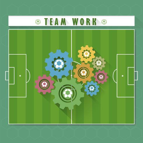 Resumo trabalho em equipe de futebol