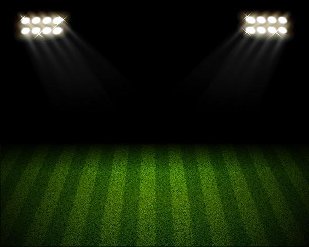 Fotbollsplan arena lanscape