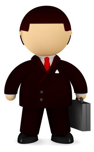 Self confident businessman