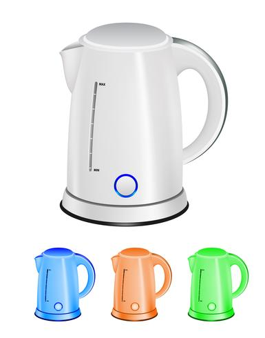 Set of a cordless kettles