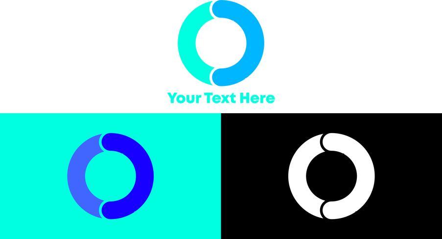 O Modern and Minimalist Logo Concept
