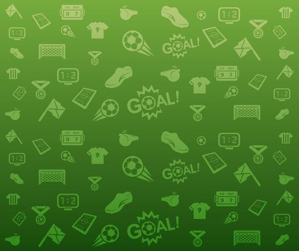 Green seamless soccer background