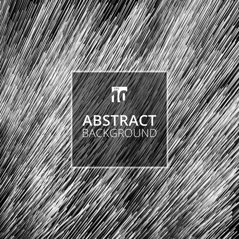 Texture futuriste de lignes diagonales abstraites fond blanc et noir.
