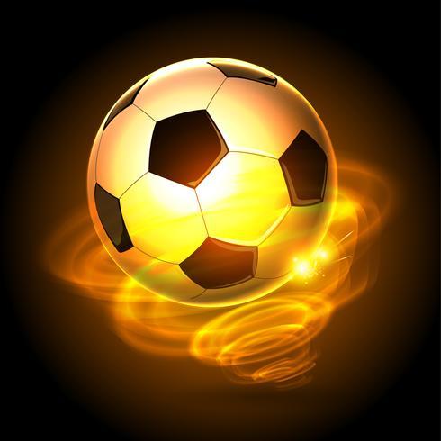 Feuer-Zyklon-Fußball