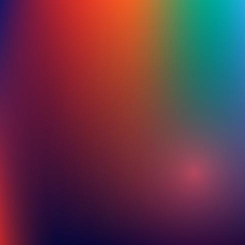 Fondo abstracto del vector, gradiente multicolor, fondo borroso. vector wallpaper