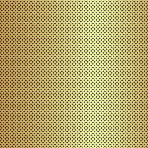 Fondo de textura de fibra de carbono de oro - ilustración vectorial