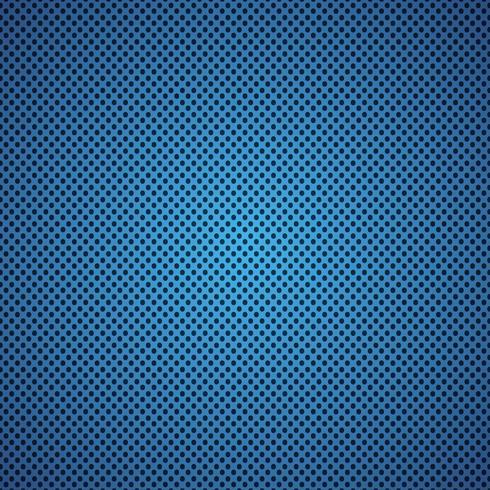 illustrazione vettoriale di sfondo blu in fibra di carbonio