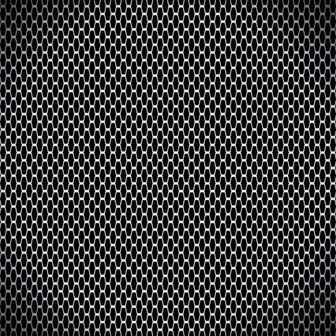 ilustração vetorial de fundo sem emenda de fibra de carbono preto