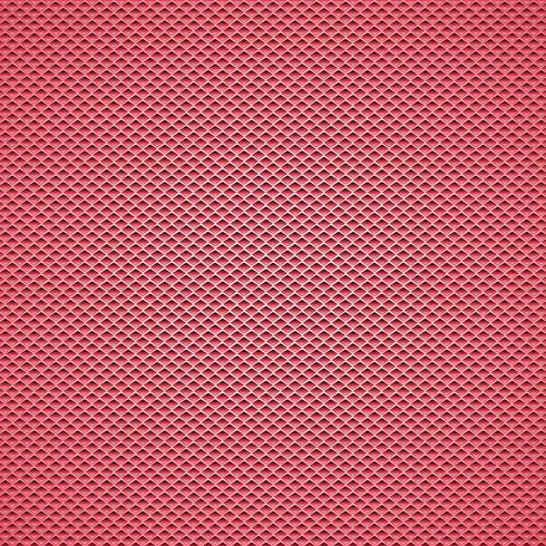 Fondo de fibra de carbono rojo de patrones sin fisuras. Ilustración vectorial