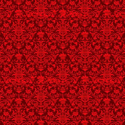 sfondo ornamentale di lusso. Motivo floreale damascato. Carta da parati reale