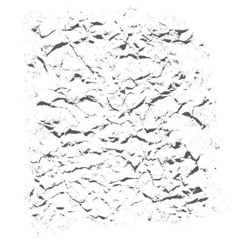 Grunge Landboden auf weißem Hintergrund