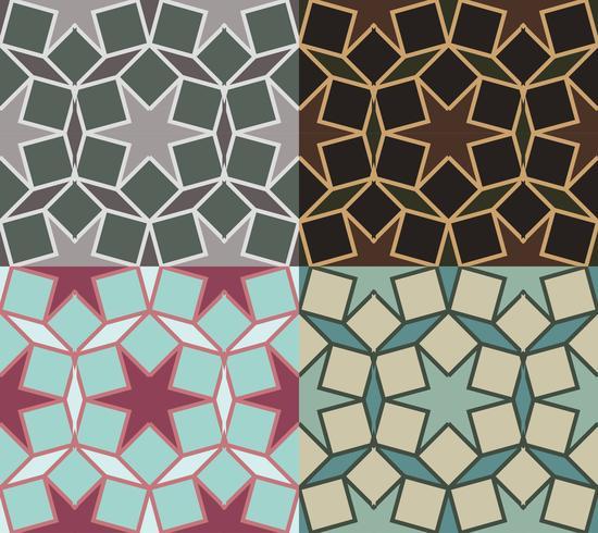 patrón decorativo Ilustración de diferentes colores option.vector vector