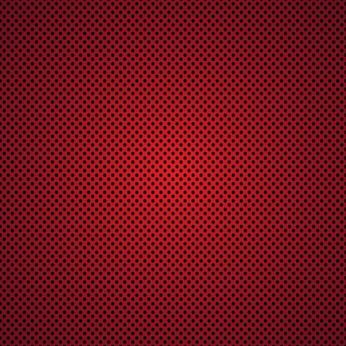 Fondo de textura de fibra de carbono rojo - ilustración vectorial vector
