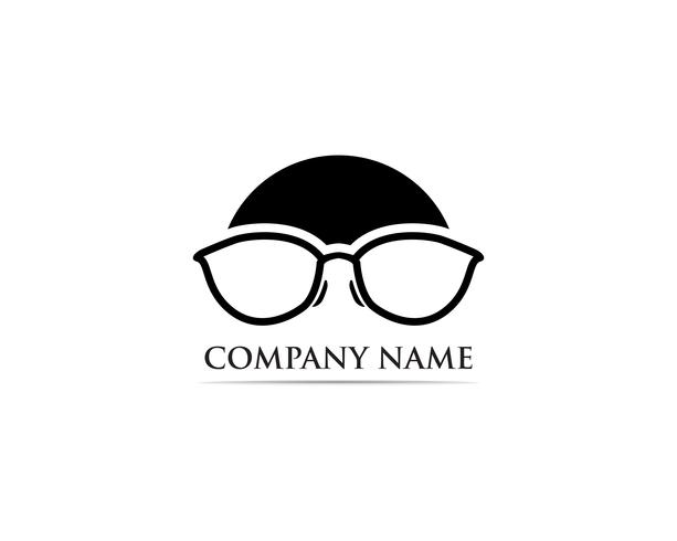 Gafas Logo Design vector