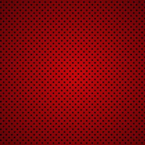 Fondo de fibra de carbono ROJO patrones sin fisuras. Ilustración vectorial