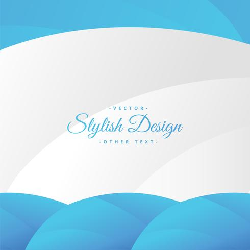 Abstracte stijlvolle blauwe achtergrond