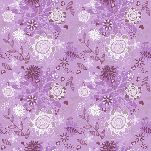 sweet Flower Floral Background vector