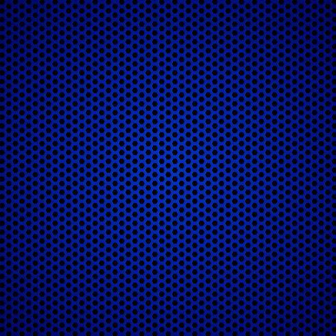 Blauer Kohlenstofffaser-Beschaffenheitshintergrund - vector Illustration