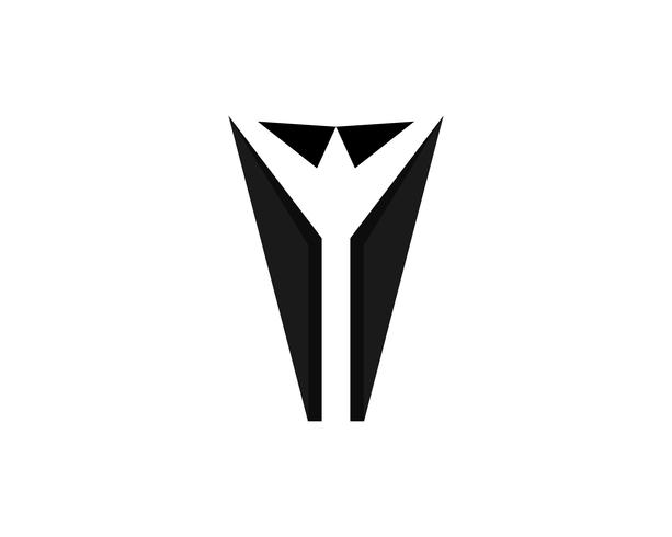 Tuxedo men black logo et symboles vectoriels