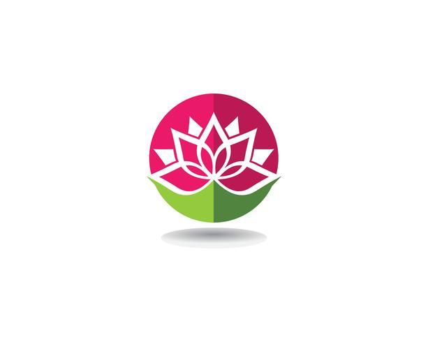 Beauté Vector Lotus design logo Logo icônes