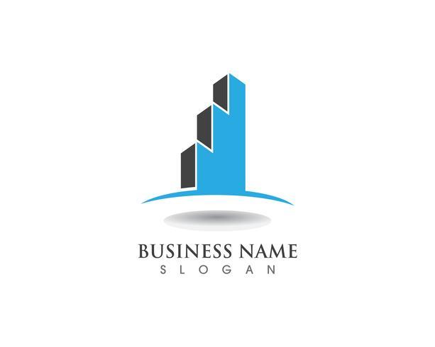 Financiën bedrijfslogo en symboolvector