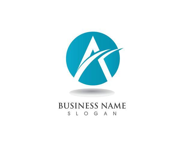 Um logotipo e um vetor de negócios de símbolo