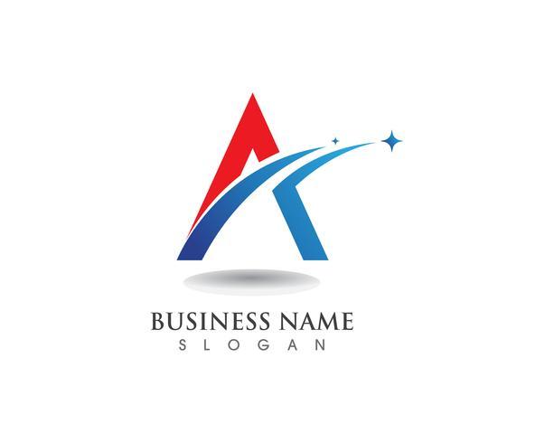 Un vector de logotipo y símbolo de negocios