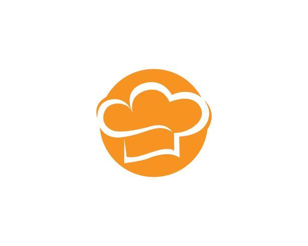 Hat chef logo et symboles vectoriels