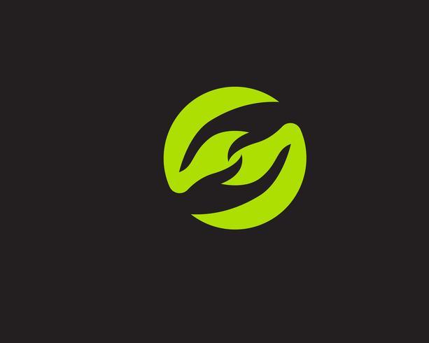 Hand help logo symbols ícones de modelo