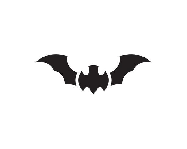 Logos de murciélagos vectoriales vector