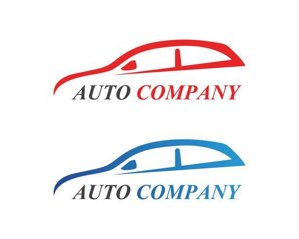 Icona di vettore di Logo auto auto