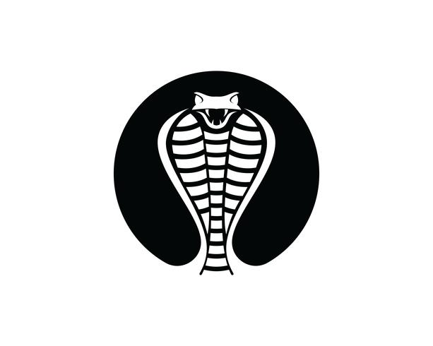 Viper Snake logo designelement. fara orm ikon. viper symbol