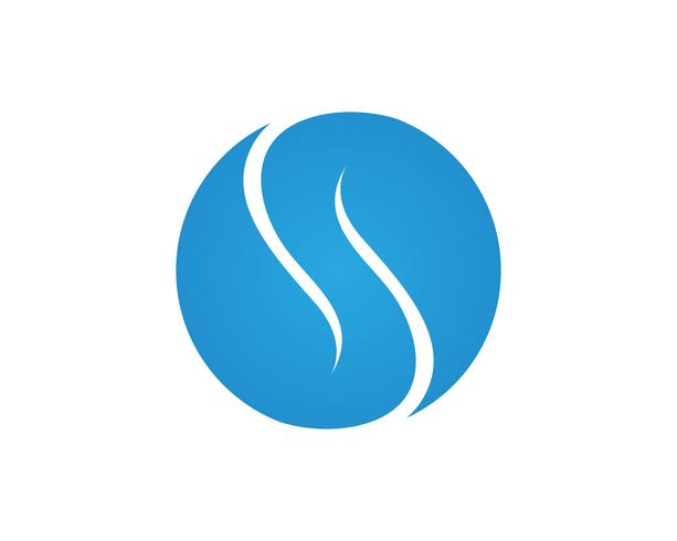 S letter logo, volume icon design template element vector