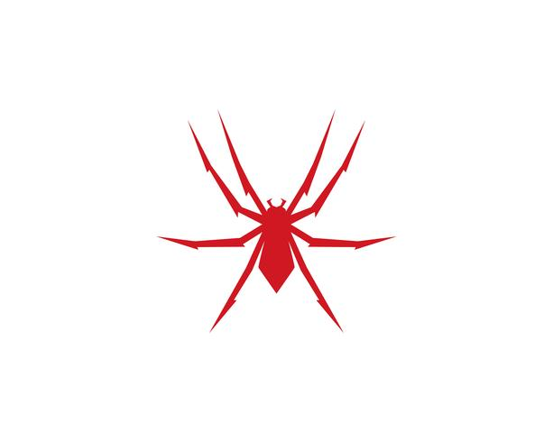 Spider logo vectorillustraties