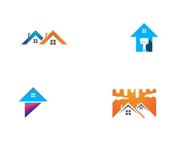 dipingere logo aziendale casa
