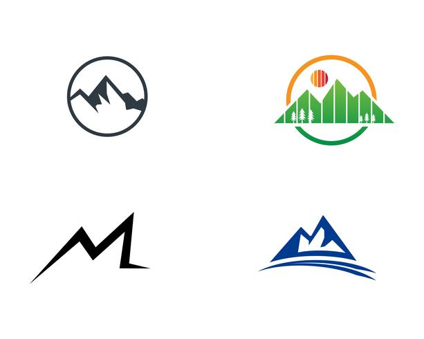 Mountain logo vektor illustration