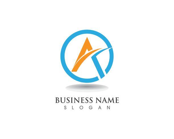 Een logo en symbool zakelijke vector