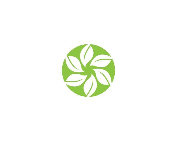 ecología logo naturaleza elemento vector