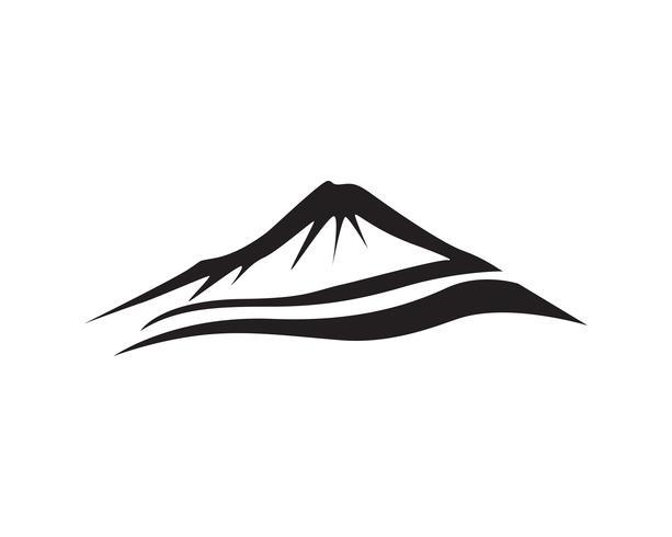 Mountain  Vector logo and symbol