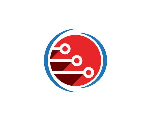 internet logo en symbolen vector sjabloon