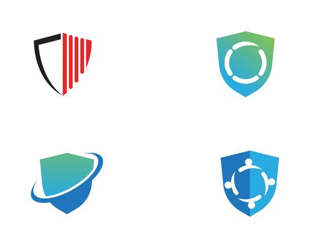schild logo vector sjabloon