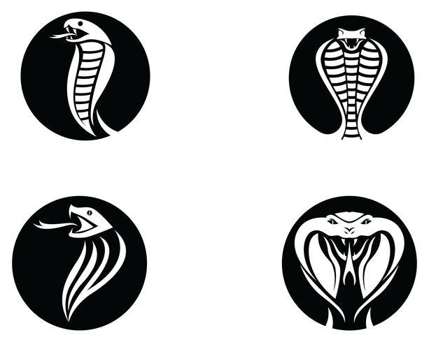 Elemento de diseño de logotipo viper serpiente. icono de serpiente de peligro. símbolo de víbora vector