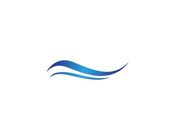 Wasserwelle Symbol und Symbol Logos