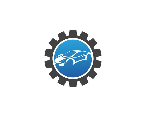 Auto logo sjabloon vector pictogram
